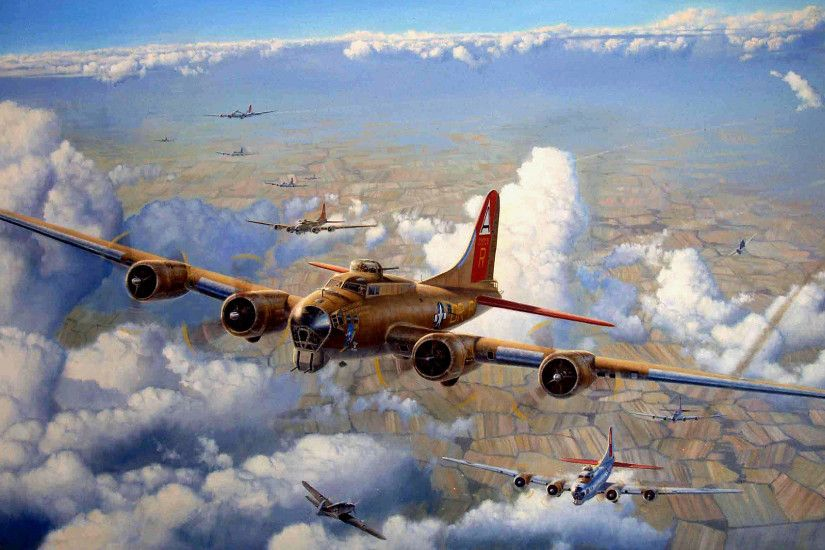 wallpaper aircraft · Boeing · World War II