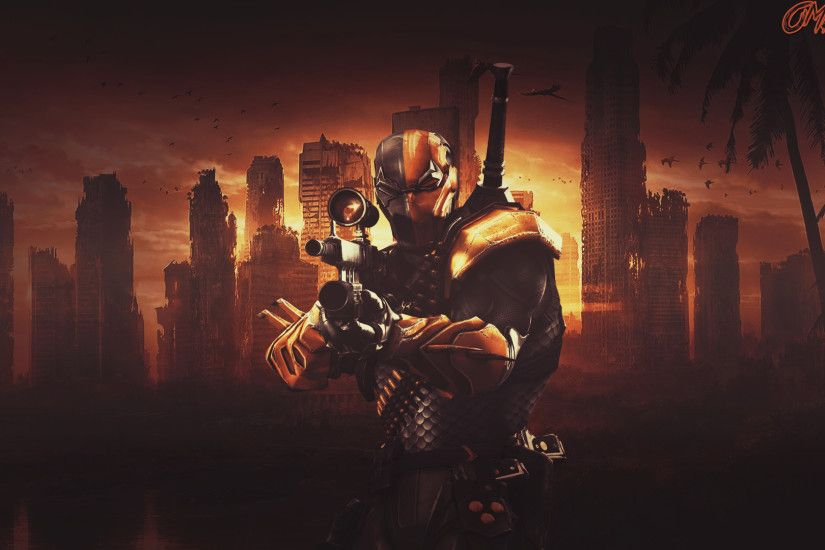 CaseyJenningz 68 2 DeathStroke - 1080p Wallpaper by Omegas82128