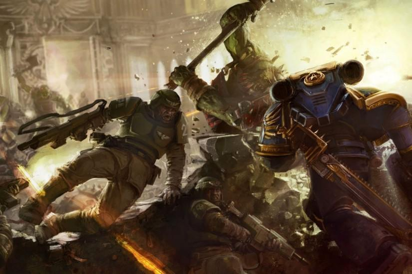 Warhammer 40K Wallpaper Space Marines 864281 ...