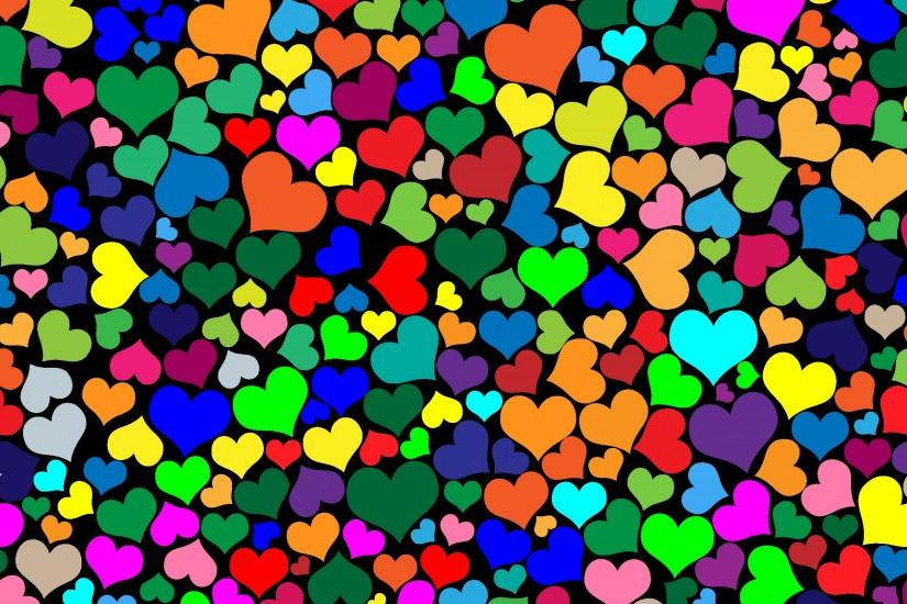 hearts background 2400x1698 for hd 1080p