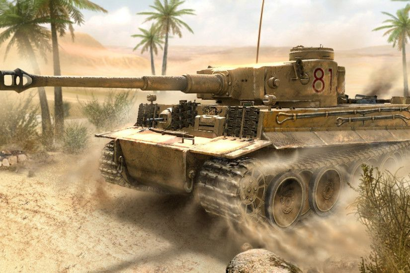 Tiger Tank Wallpaper HD Widescreen 12476 - Amazing Wallpaperz