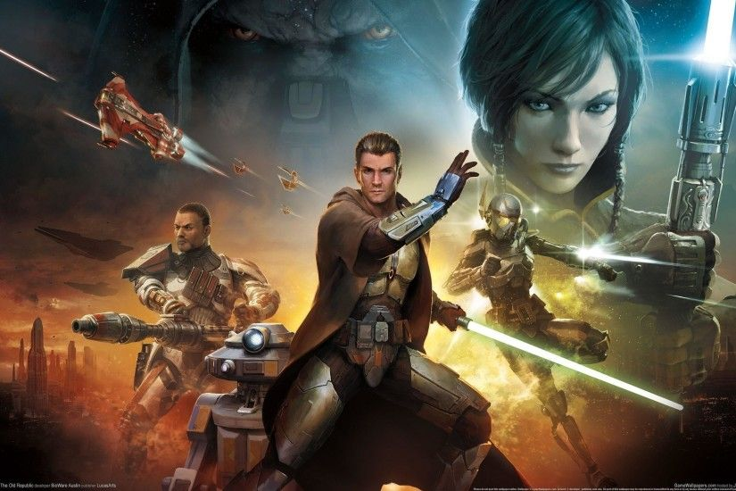 14 Star Wars The Old Republic Wallpapers | Star Wars The Old ..