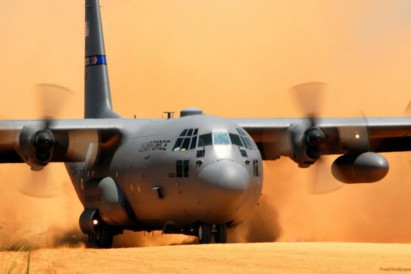 Lockheed C-130 Hercules wallpapers | Freshwallpapers