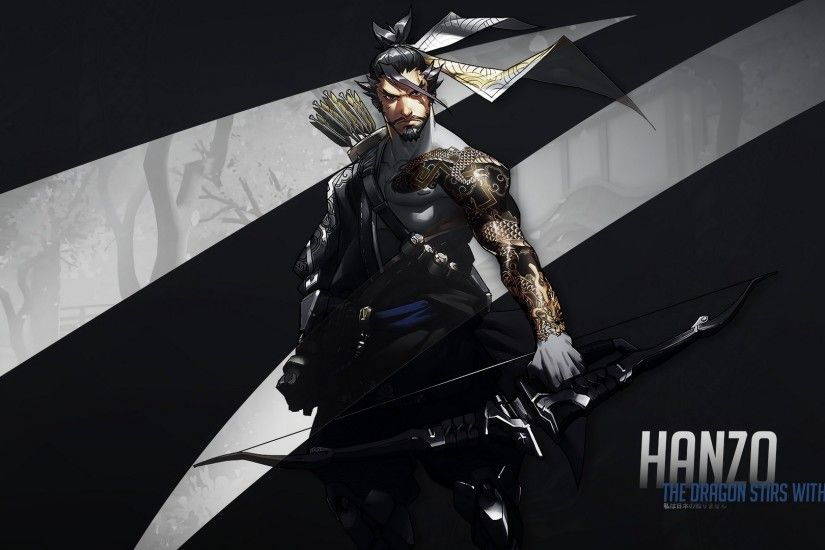 Hanzo Tattoo Archer #Archer #Games #gaming #Hanzo #Pc #Tattoo #
