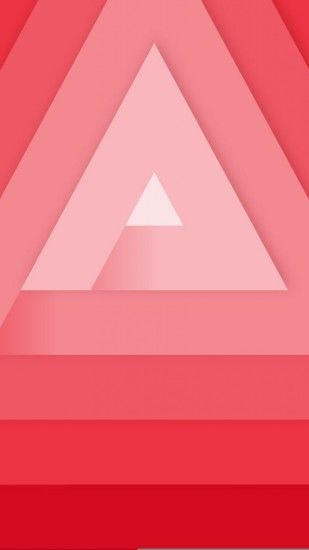 Preview wallpaper triangle, geometry, lines, minimalism 1440x2560