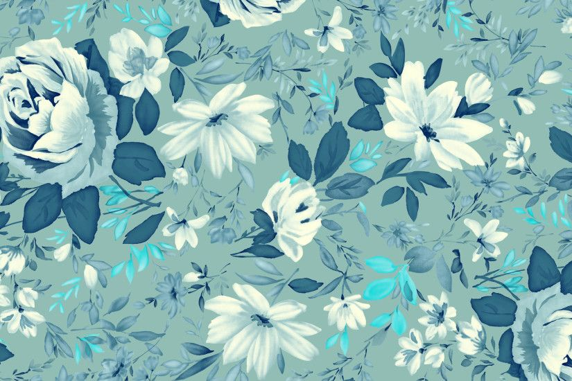 High-Quality-Wonderful-Vintage-Floral-Wallpaper-1