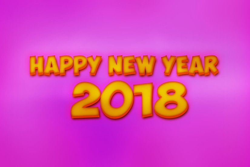 Happy New Year 2018 Images Download - New Year Wallpapers