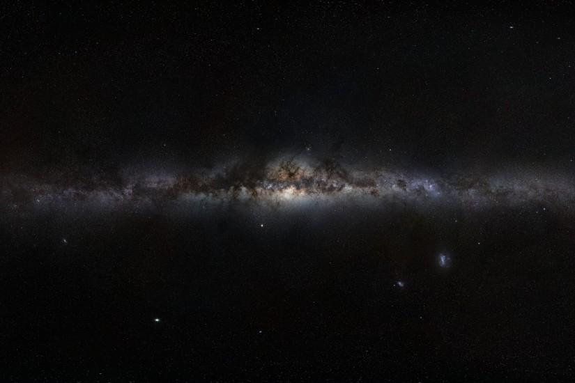full size hd galaxy wallpaper 3840x2160 ios