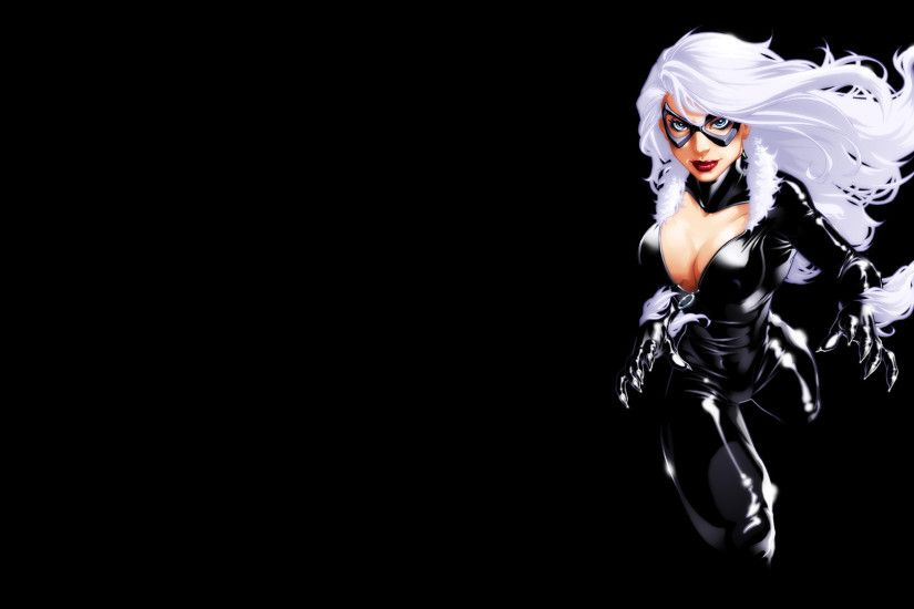 Black Cat Full HD Wallpaper 1920x1080