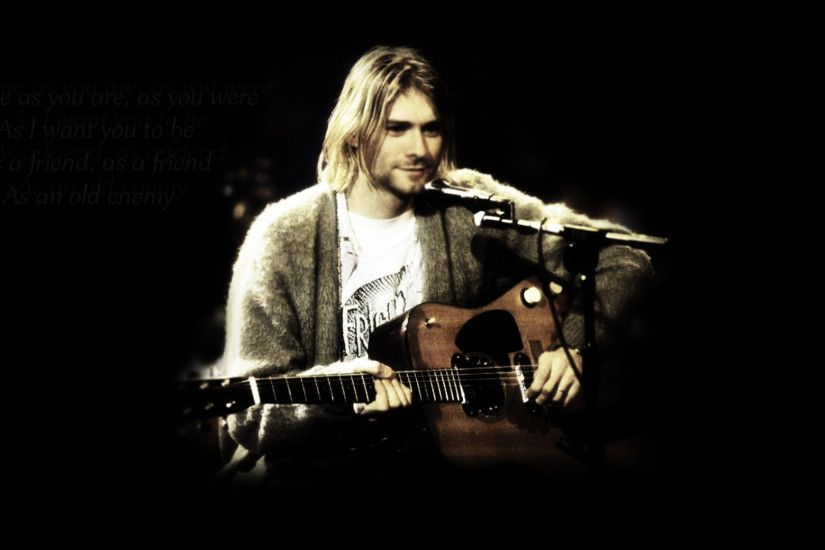Kurt Cobain : only 46 years old