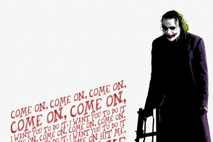Preview wallpaper heath ledger, joker, the dark knight 3840x1200