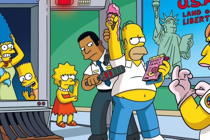 The Simpsons, Marge Simpson, Maggie Simpson, Bart Simpson, Lisa Simpson,  Homer