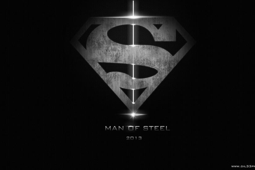 Man Of Steel Logo Background Wallpaper . Free HD 3D Desktop Wallpapers
