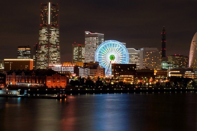 Yokohama city night