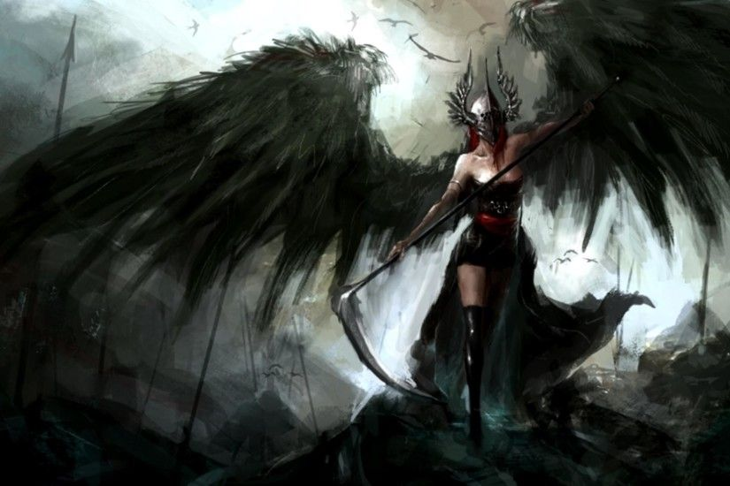 Grim Reaper Girl HD Wallpapers