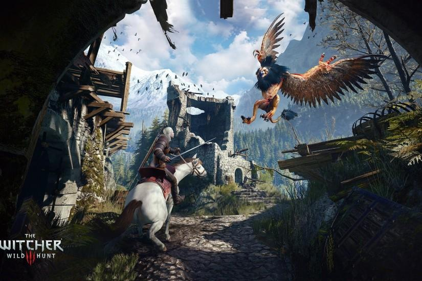 download free the witcher 3 wallpaper 1920x1200 windows xp