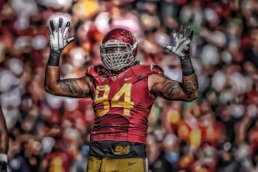 [Read Description] USC DT/DE Leonard Williams Highlights á´´á´° - YouTube