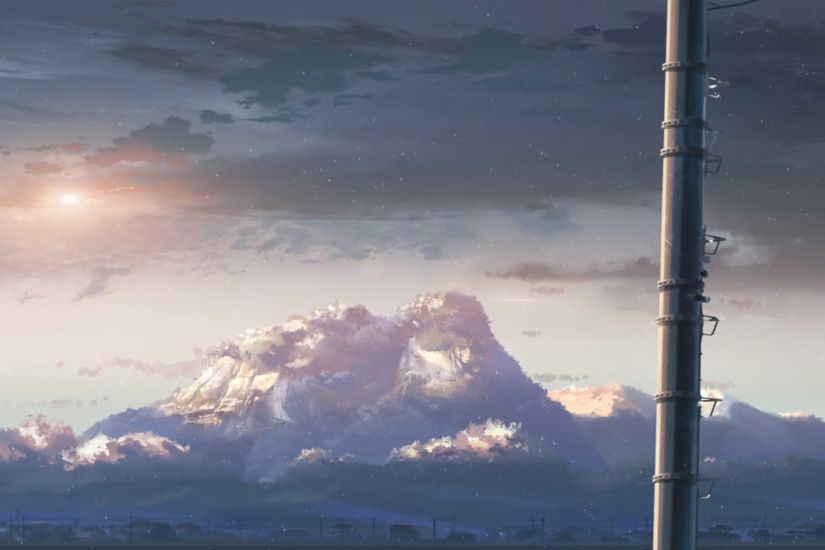 5 centimeters per second wallpaper - Google Search | aesthetic anime  wallpaper | Pinterest | Wallpaper and Digital art