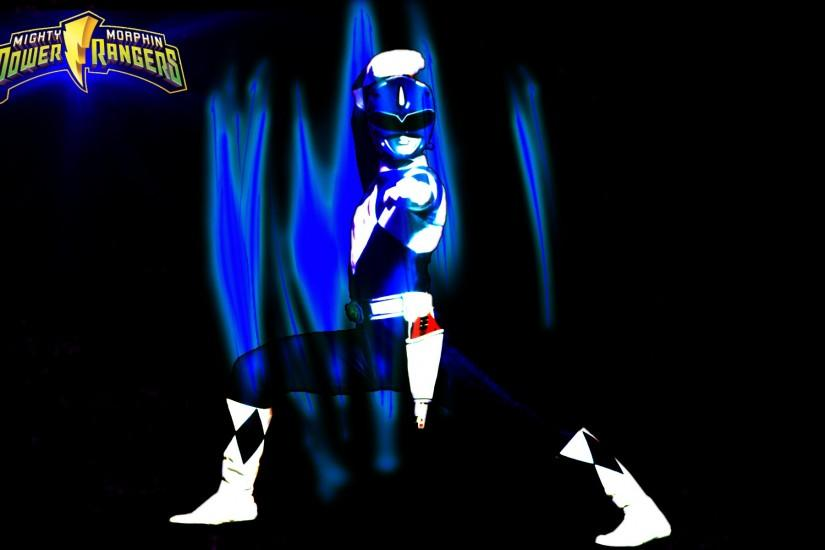 Blue Power Rangers Wallpaper Power rangers wallpaper