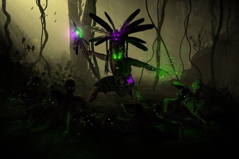 Video Game - Diablo III Witch Doctor (Diablo III) Wallpaper