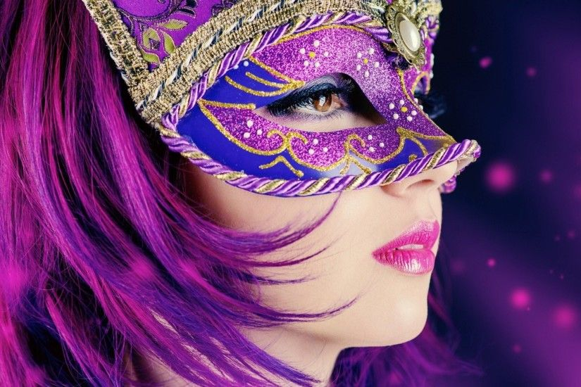 Enigmatic Masquerade Masks Wallpaper Collection VolGanga