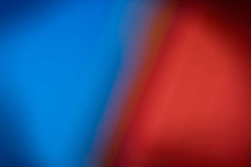 blue and red blurred wallpaper #12256