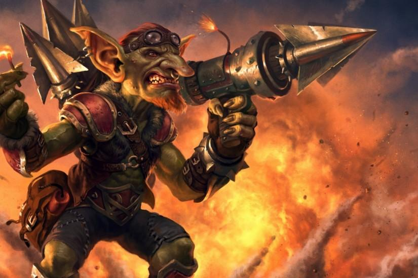1920x1080 Wallpaper hearthstone, goblins vs gnomes, goblin, hearthstone  heroes of warcraft, warcraft