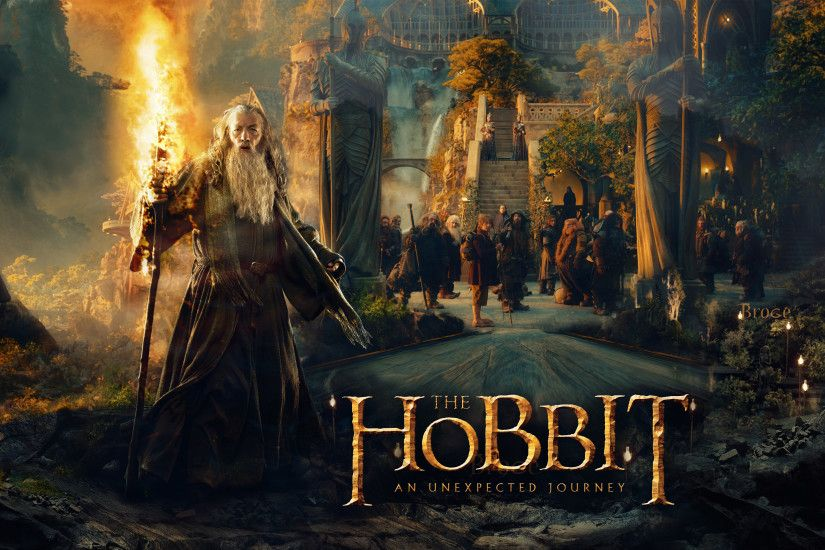 full 3d the hobbit wallpapers