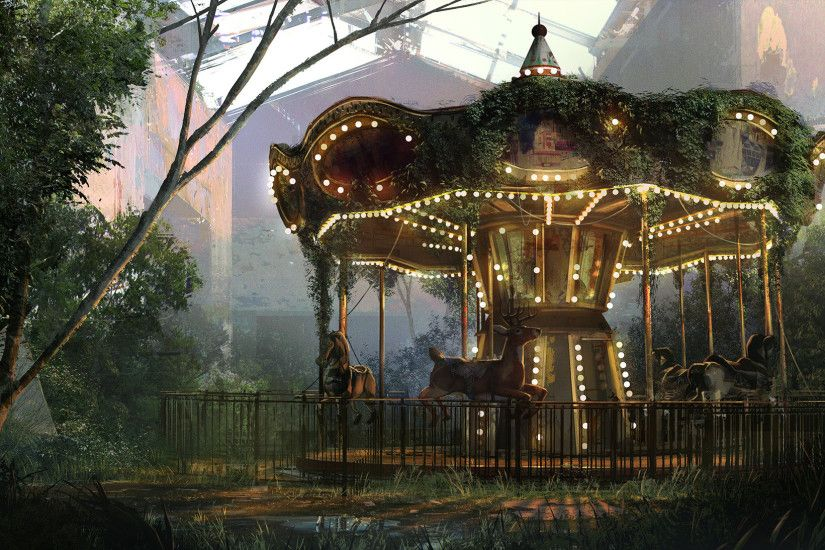 The Last of us: the abandoned Park