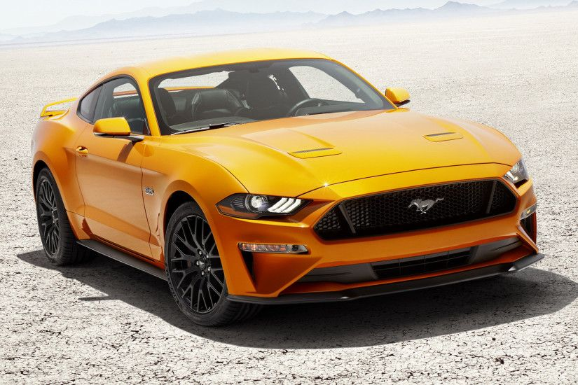 Wide 8:5 · Ford Mustang GT (2018) ...
