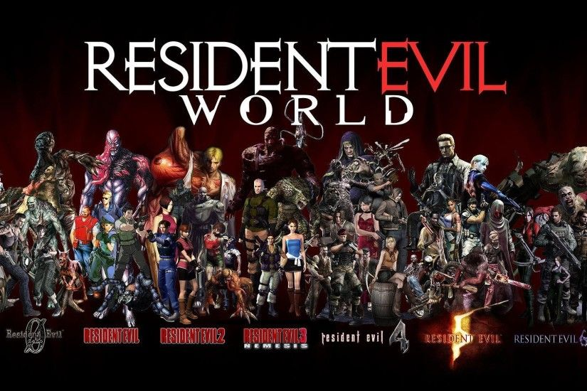 Image for Free Resident Evil World HD Wallpaper