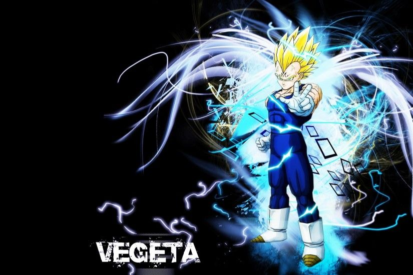 ... Attachment for Dragon Ball Z Wallpaper 21 of 49 - Super Saiyan Vegeta