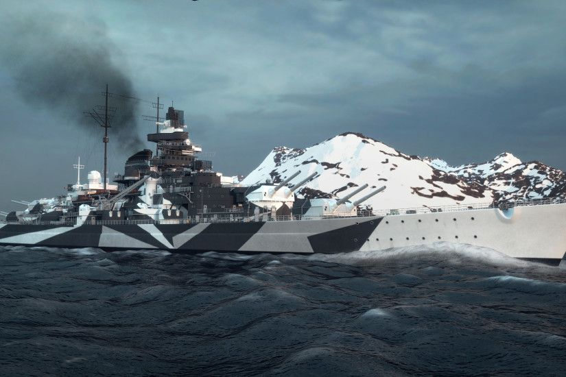 4 German battleship Tirpitz HD Wallpapers | Backgrounds - Wallpaper Abyss