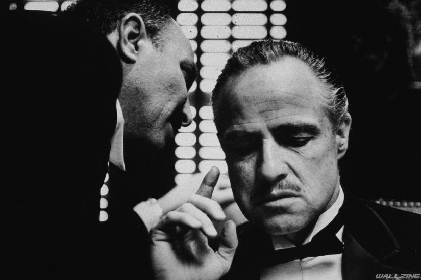 The Godfather - A Francis Ford Coppola movie from 1972 starring Marlon  Brando and Al Pacino
