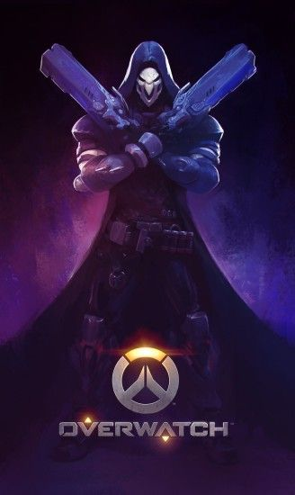 This week's Fan Art Friday spotlight is on Reaper from Blizzard  Entertainment's Overwatch.