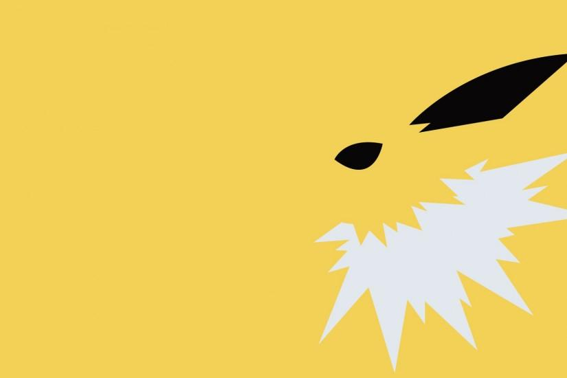 Anime - Pokemon Jolteon (Pokémon) Eeveelutions Electric Pokémon Wallpaper