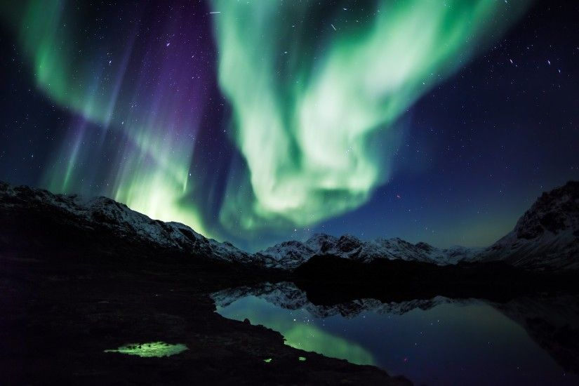 Alaska Northern Lights Wallpaper - WallpaperSafari