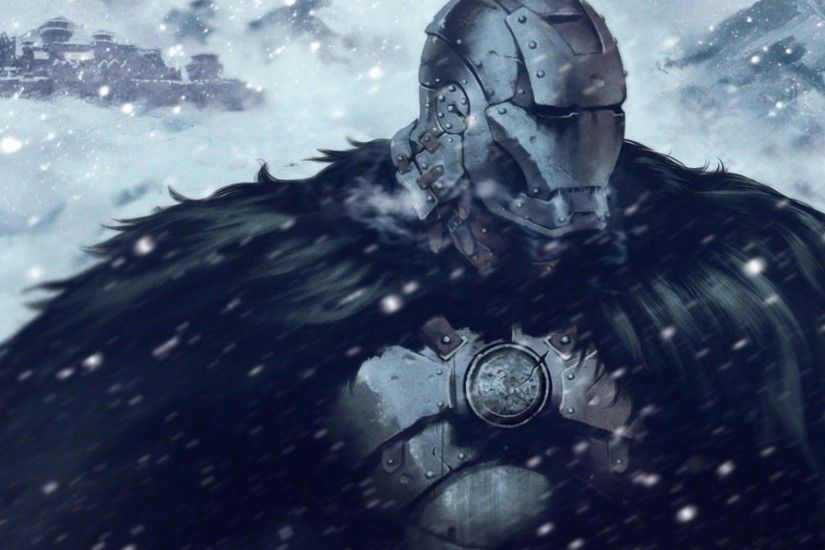 Game Of Thrones, Iron Man, Crossover, Snow, House Stark Wallpapers HD /  Desktop and Mobile Backgrounds