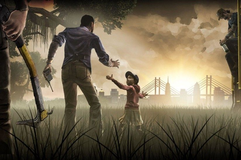 Images For > The Walking Dead Season 1 Game Wallpaper