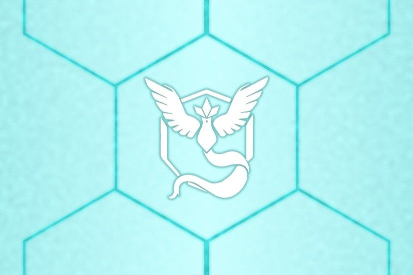 Pokemon Go, Articuno, Hexagon, Ice, Blue, White, Team Mystic Wallpapers HD  / Desktop and Mobile Backgrounds