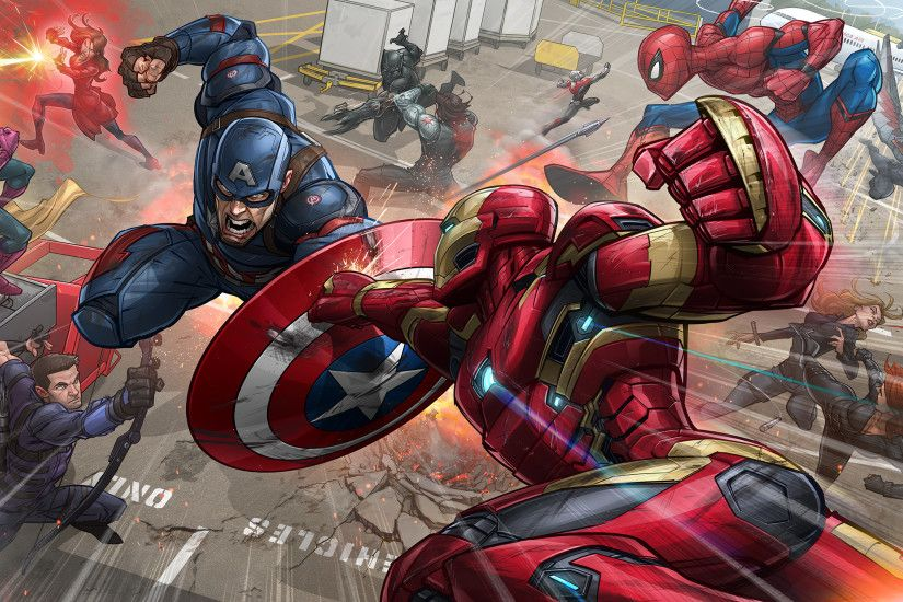2 Captain America: Civil war HD Wallpapers | Backgrounds - Wallpaper Abyss