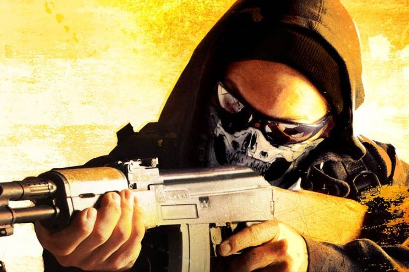 3840x1200 Wallpaper counter-strike global offensive, art, anarchist, game  card, steam