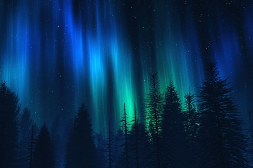 Northern Lights Wallpaper ·① Download Free Cool High