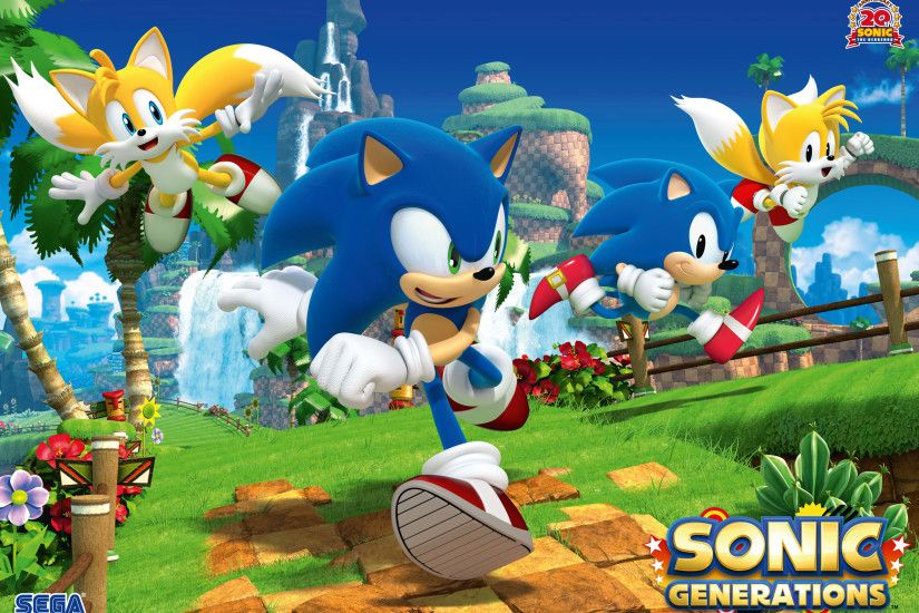 SonicTheHedgehogBG 164 14 Sonic Generations Wallpaper HD by SONICX2011