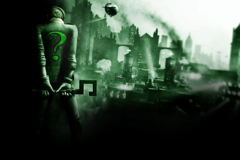 ... Batman-Arkham City Riddler Background.jpg ...