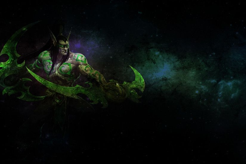Gallery of Illidan Stormrage Wallpaper