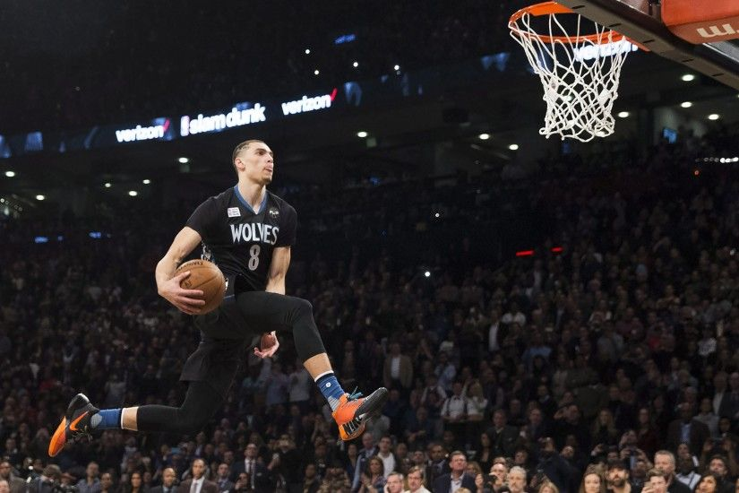 Zach LaVine won't defend his dunk contest title. What about the three-point  contest?