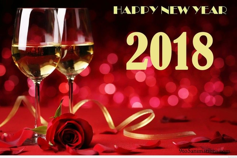 Happy new year 2018 eve party HD wallpapers for desktop.