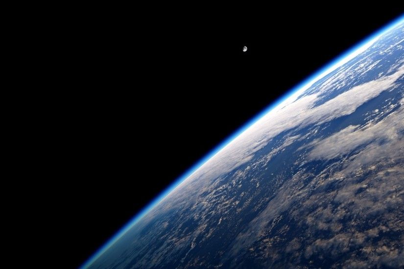 Wallpapers 4k Wallpaper Space Edge Of Earth From 4K | Free Desktop Hd Full  Screen wallpaper ...