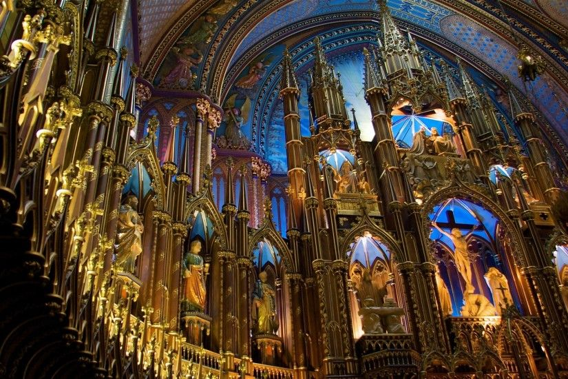 wallpapers free notre dame basilica in montreal (Custer Murphy 1920x1200) |  ololoshenka | Pinterest | Notre dame basilica and Notre dame